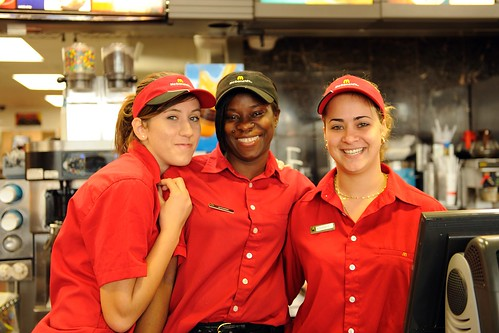 Image result for McDonald's staff