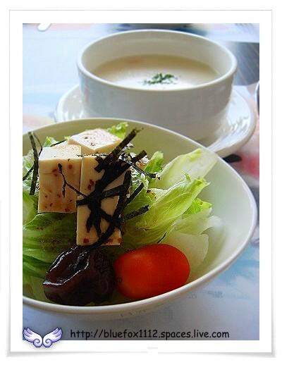 080731Nikkoffee日光咖啡03_田園生菜沙拉(油醋醬)