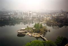 Guilin, China (maisonburke) Tags: china water reflections guilin lakes ripples reflexions buoyant