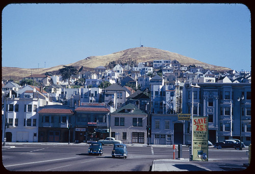 South Van Ness at Army Street, 1953