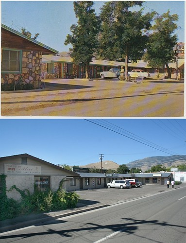 Hi-Way 50 Motel Then and Now
