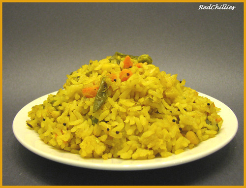 Vegetable Poha (Avalakki / Aval Upma) | RedChillies