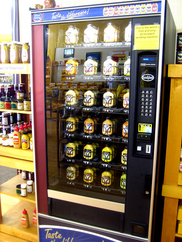 Mustard Museum Vending Machine