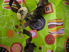 Swedish gift wrap