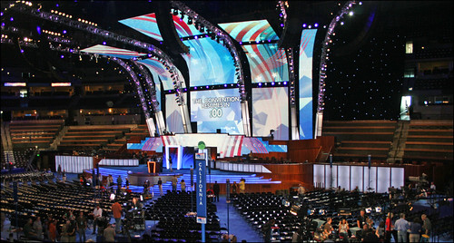 Democratic Convention 2008 stage