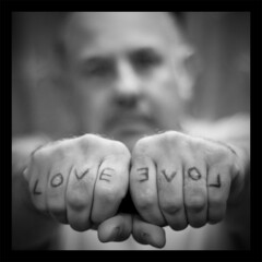 Love not Bigotry (AndyWilson) Tags: selfportrait love 50mm sony hastings alpha a100 saynotoracism mohammedalmajed ajwch