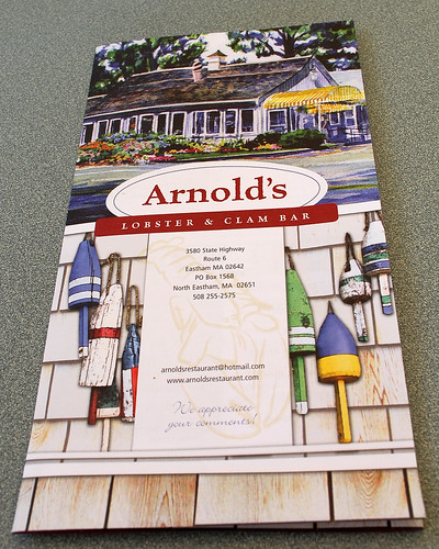 arnolds lobster and clam bar