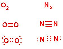 Bonding Notation for Oxygen and Nitrogen