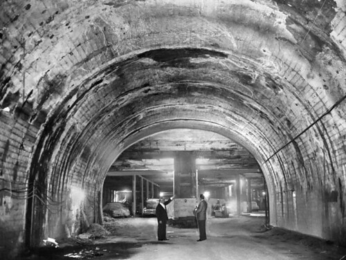 Subway Terminal Building Tunnel, 1961