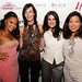 Ashanti, Heather Smith, Idina Menzel, friend