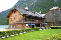 On Lake Konigssee, Germany (Rozanne Hakala) Tags: lake mountains alps germany bavaria berchtesgaden europe penninsula konigssee berchtesgadenerland deepestlakeinthealps