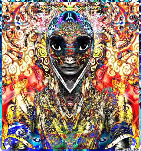 LARRY CARLSON, India Love 98, digital photography,1998.