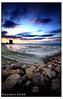 Cloudy Sunset [Color] (Hussain Shah.) Tags: city beach d50 nikon sigma kuwait 1020mm shuwaikh shah hussain