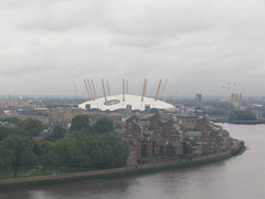 O2 Arena from the Greenwich Wheel