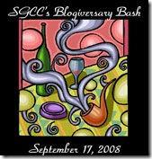 SGCC Blogiversary Bash logo