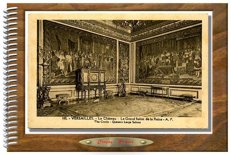 142-VERSAILLES - Le Chateau Le Grand Salon de la Reine