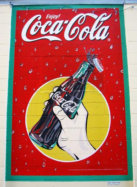 Lynchburg Coke Mural