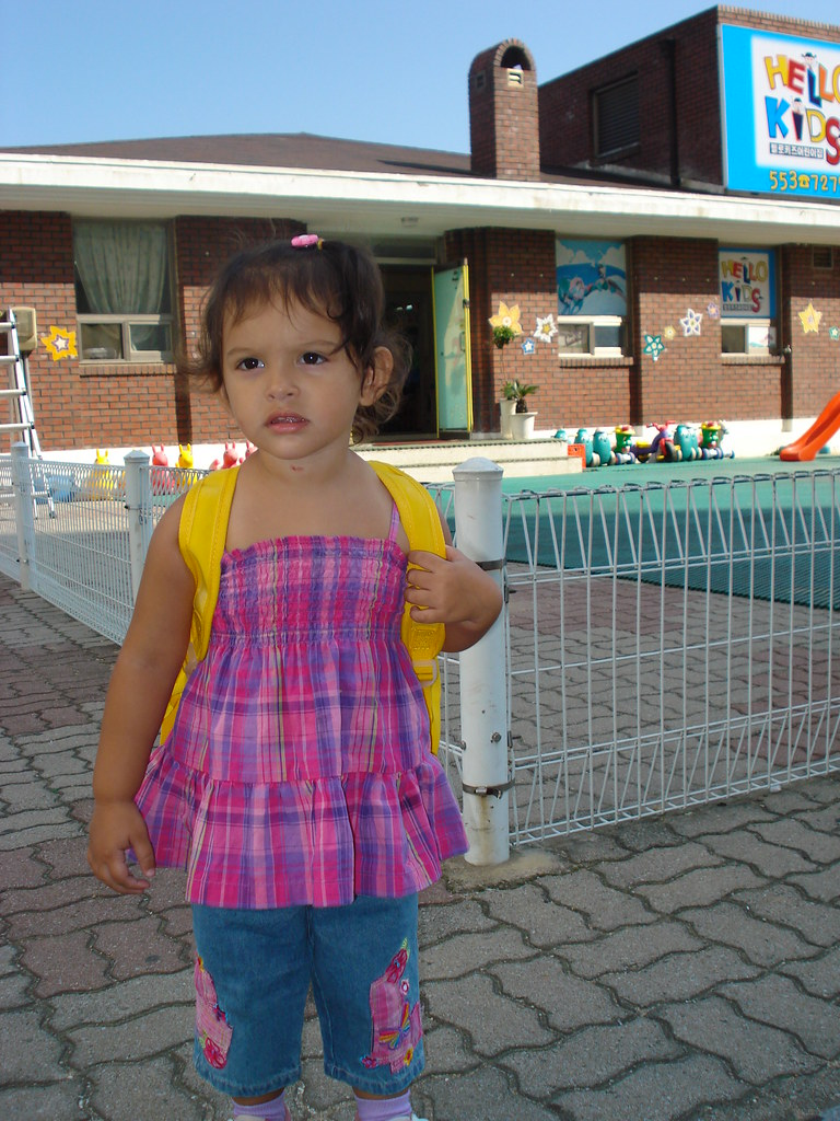 Gabi's First day at School