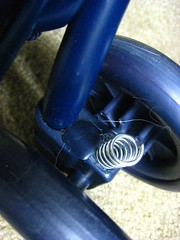 Kittywalk Pet Stroller - broken wheel