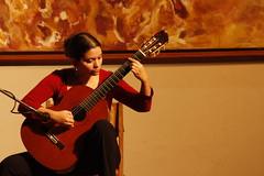 a classical guitar concert