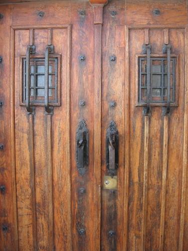 Doors in Marseille Notre Dame