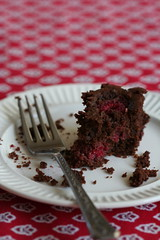 Whole Wheat Chocolate Rasp Cake 2