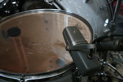 Sony C-38 on Floor Tom