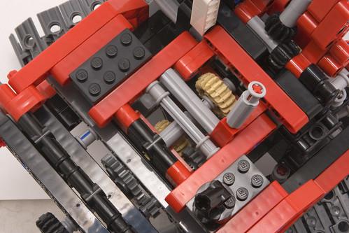 Lego 8294 gearbox