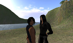 Can't take my eyes off him (Skell Dagger) Tags: secondlife beloved
