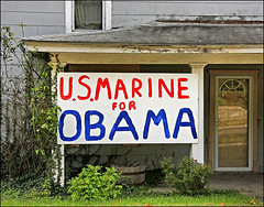 Semper Fidelis (FotoEdge) Tags: blue red white liberty president mo vote obama semperfi semperfidelis fotoedge usmarine4obama