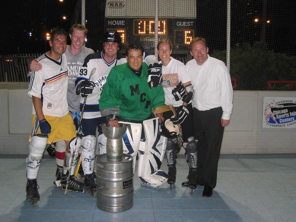 2008 Coed Roller Hockey Champions