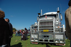 AT1379 (Australian Trucks Archive) Tags: road charity travel cruise tractor travelling industry animals kids rural truck balloons out children fun toys prime for drive big highway soft industrial colours ride diesel south country transport group australian horns australia semi special kind machinery event riding lorry rig transportation disabled land vehicle outback trucks trailer heavy sick fundraising convoy bitumen fuel services mover trucking helping semitrailer novita hearted childrens kids truckies convoy