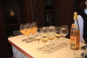 ハニーワインとオレンジジュース