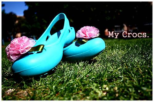 my crocs.