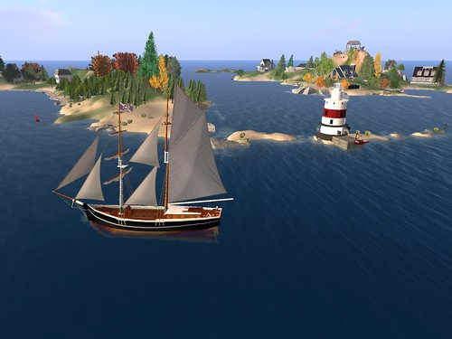taking the Morning Star in the United Sailing Sims