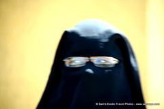 IMG_8621 (Sam's Exotic Travels) Tags: life people egypt hijab dailylife niqab luxor egyptians