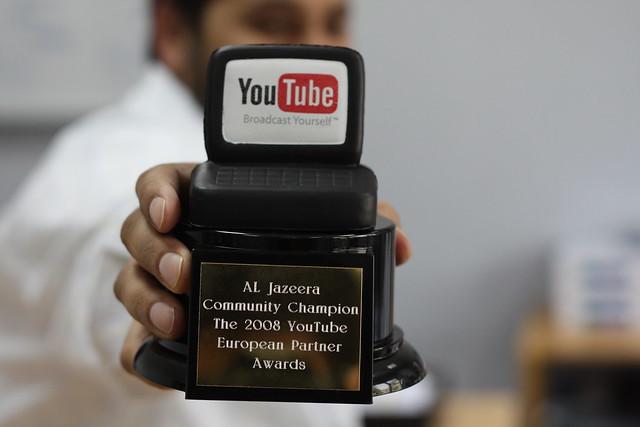 Al Jazeera wins YouTube Award