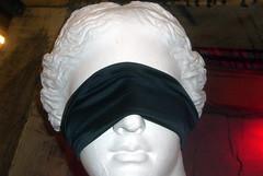 Venus blindfolded