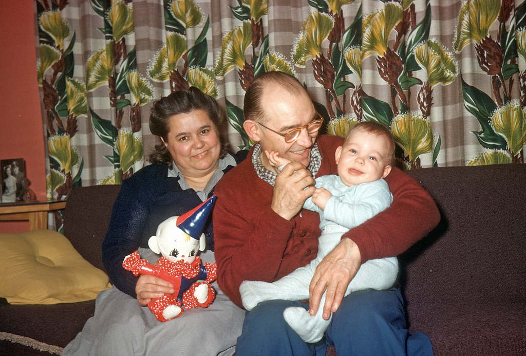 1951, mike, paternal grandparents