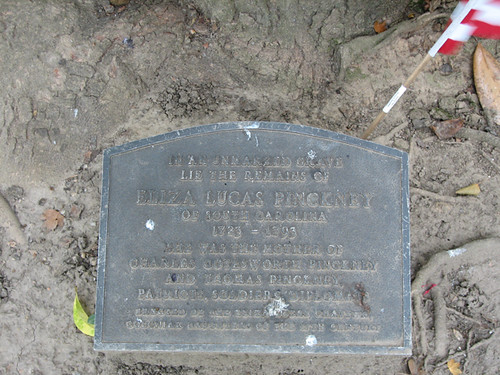 The Grave of Eliza L. Pinckney
