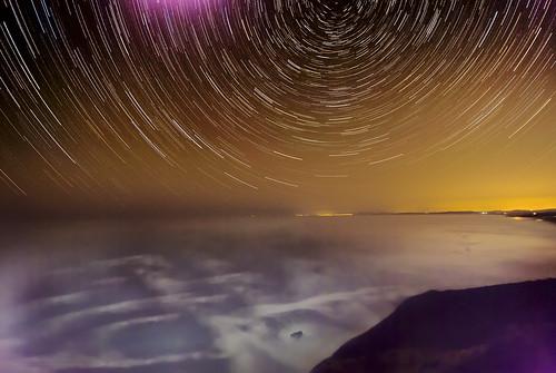 Night View of Bodega Bay