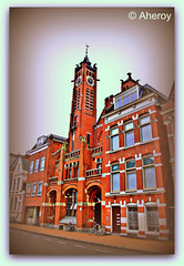 Woonkerk Stationstraat Church,Groningen stad,the Netherlands,Europe. (Aheroy(2Busy)) Tags: city holland art church netherlands dutch architecture town europe colours different arts nederland surreal hallucination groningen hdr stad beautifull townview aheroy aheroyal