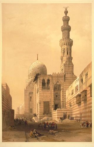 019- Tumbas de los Califas en el Cairo- David Roberts -1846-1849