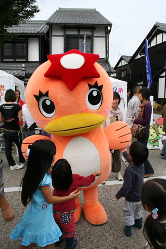 "Yuru-chara ../ / Japan's regional mascot festival  :: ""Unagappa from Tajima in Gifu Prefectur"" [[ VIA Stan Sakai ..courtesy Mainichi Newspapers ]]"