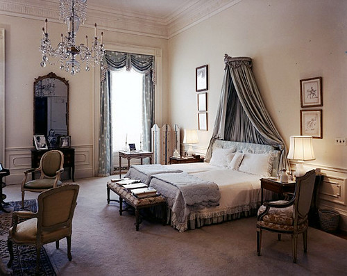White House, First Lady's Bedroom, 1962