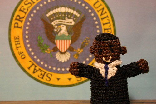 obama finger puppet