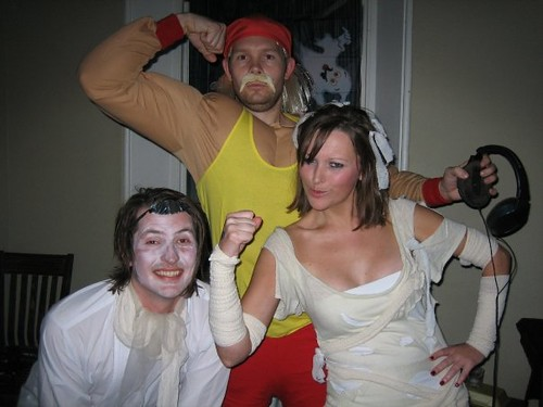 Hulk, Mummy and Libertine