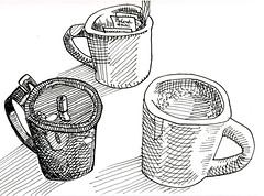 coffee cups (by Rymann)