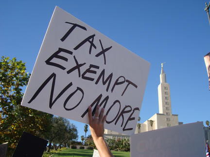 tax exempt no more