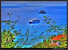 Gustavia Saint Barthelemy (j glenn montano 3) Tags: west saint french island saba harbor horizon glenn indie montano gustavia barthelemy justiniano colourartaward